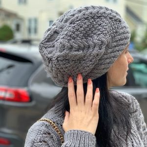NEW Special Handmade Knitted Beanie Hat